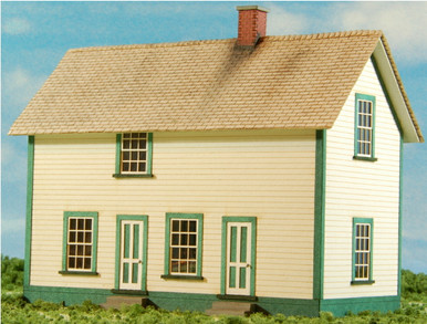 HO-SCALE CREW DWELLING