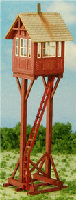 HO-SCALE CROSSING GATE TOWER