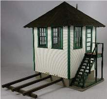 O-SCALE INTERLOCKING TOWER