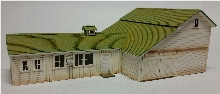 19105 HO-SCALE EFS #9 GARAGE-COOP