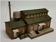 19106 HO-SCALE BLUCHER GLUE WORKS