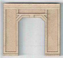 19107 HO-SCALE PORTAL CONCRETE SINGLE