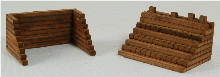 0182 N-SCALE TRACK BUMPERS 4-PACK 2-STYLES
