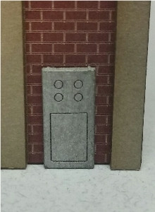 09038 N-SCALE GAS METERS & ELECTRIC PANELS 4-PACK