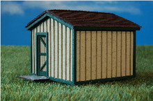 HO-SCALE STORAGE SHED