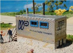 HO SCALE TRAILER OFFICE