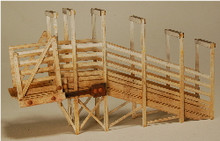 HO-SCALE STOCK LOADING RAMP