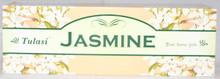 Tulasi Jasmine Incense sticks 4 X 8 STICK PACKS + 1 FREE INCENSE HOLDER