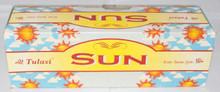 Tulasi Sun Incense sticks 4 X 8 STICK PACKS + 1 FREE INCENSE HOLDER