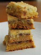 Smiley Bars (Toffee and Cream Cheese)