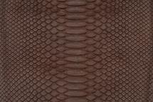 Python Skin Matte Brown