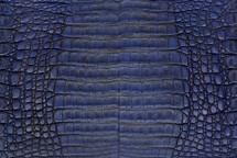 Caiman Skin Belly Vintage Cobalt