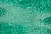 Ostrich Leg Glazed Emerald