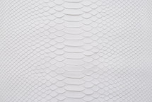 Python Skin Matte White
