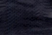 Whipsnake Skin Glazed Navy