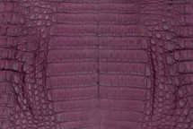 Caiman Skin Belly Matte Purple