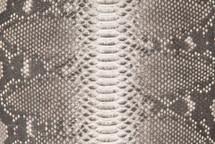 Python Skin Back Cut Matte Natural - Short