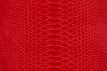 Python Skin Suede Red