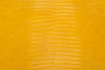 Lizard Skin Glazed Yellow