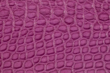 Alligator Flank Skin Matte Purple