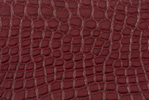 Alligator Flank Skin Matte Raspberry