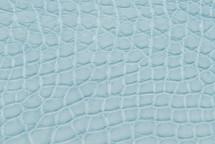 Alligator Flank Skin Matte Baby Blue