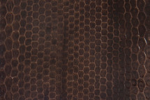 Sea Snake Skin Glazed Brown