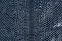 Python Skin Glazed Navy