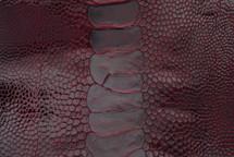 Ostrich Leg Glazed Burgundy