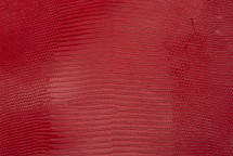 Lizard Skin Glazed Red