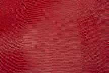 Lizard Skin Glazed Red