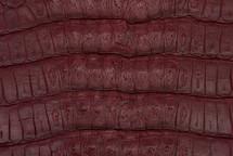 Caiman Tail Matte Burgundy