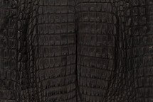 Caiman Skin Belly Matte Black - XS