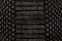 Copperhead Snakeskin Matte Black