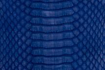 Copperhead Snakeskin Matte Cobalt