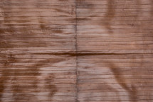 Eel Skin Panel Glazed Light Brown