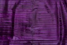 Eel Skin Panel Glazed Violet