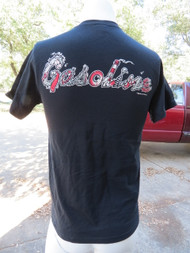 Gasoline T-shirt with Type by So Cal Surf/Lowbrow Artist, Damian