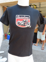 Custom Triumph appears on the front with Gasoline Gallery's logo.