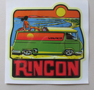 Vinvanco Surf Spot Sticker #2 of a series -- Rincon