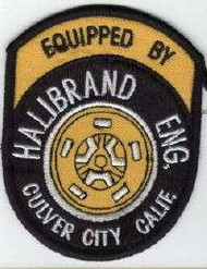Equipt by Halibrand Eng. Culver City, Calif - Reproduction Embroidered Patch