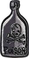 "Kruse Poison Patch 3"" x 1 1/2"","