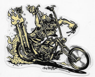 Murdercycle Sticker by Von Franco