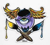 Beatnik Eye sticker by Von Franco