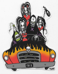 Pigorsmobile by Eric Pigors Sticker