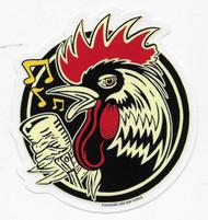 Kruse Rockabilly Rooster Sticker