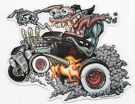Bigtoe Joe Monster Burnout Sticker