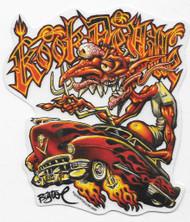 Bigtoe Joe Kook Deville Sticker