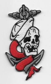 Sailor Skull Patch