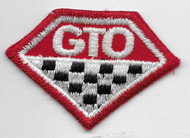 Small Vintage GTO Patch